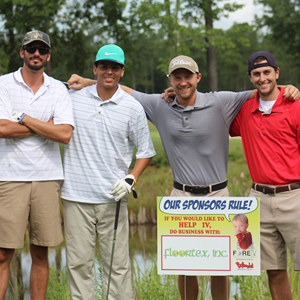 Pay for a team and hole sponsorship